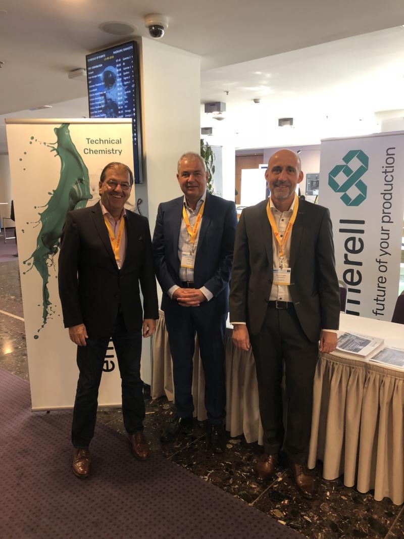 Das Emerell Team (v.l. Norbert Bazelli, Dr. Michael Lang, Marco Montagner)